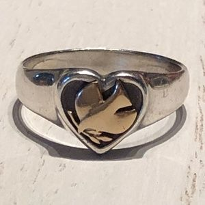 JAMES AVERY | Peace Dove in Heart Ring